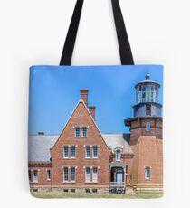 New England Lighthouse, Rhode Island, Block Island,  Tote Bag