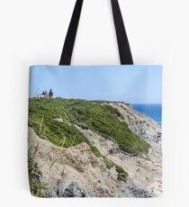 New England Lighthouse, Rhode Island, Block Island Tote Bag