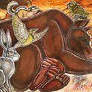 Dreaming Bear by Lynnette Shelley