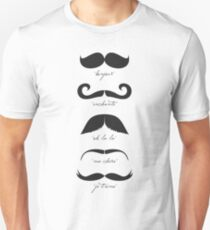 Monsieur Moustache Unisex T-Shirt