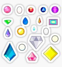All gemstones steven universe Sticker