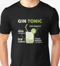 Gin Tonic Slim Fit T-Shirt
