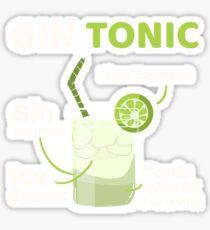 Gin Tonic Sticker