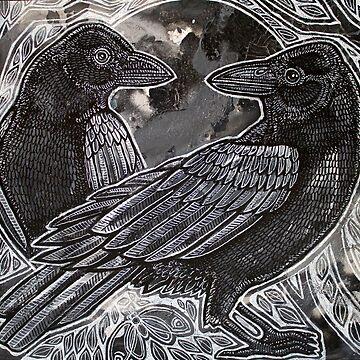 The Night Ravens by LynnetteShelley