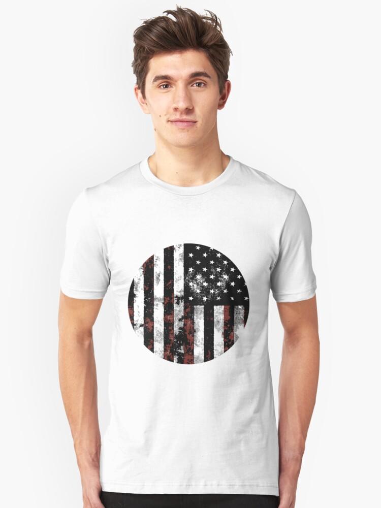 American Flag Unisex T-Shirt Front
