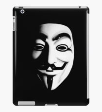 Fawkes Mask iPad Case/Skin