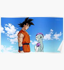 DBZ Goku vs Freezer Poster