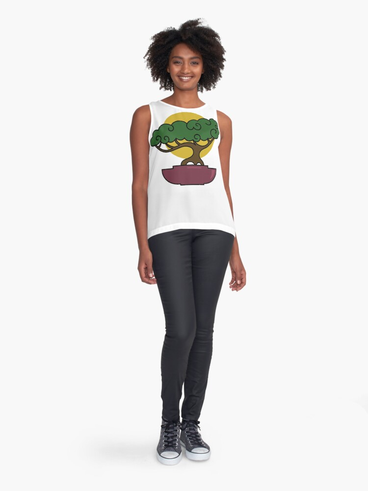 Alternate view of Bonsai Tree #2 Sleeveless Top