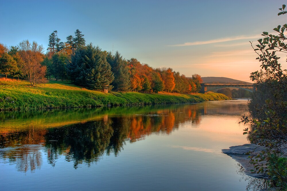 River Dee by Panalot