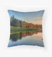 River Dee Throw Pillow