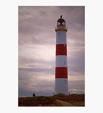 Tarbat Ness Lighthouse 2 Photographic Print