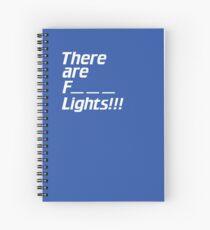 Star Trek TNG: How Many Lights? Four? Five? Spiral Notebook