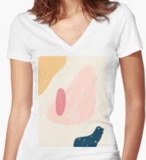 Zoe Women's Fitted V-Neck T-Shirt