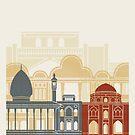 Shiraz Skyline Poster von paulrommer