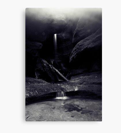 Mist at Centennial Glen Canvas Print