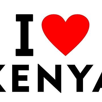 I love Kenya by tony4urban