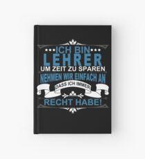 Lehrer Witziger Lehrer Spruch in Deutsch Notizbuch