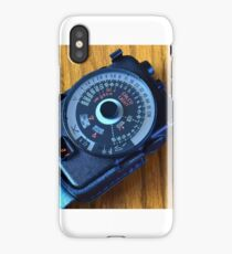 Photographic Light Meter iPhone Case/Skin