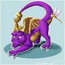 Purple Dragon by StoneStudios
