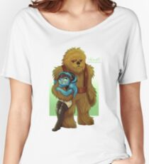 Twi-lek and Wookie Women's Relaxed Fit T-Shirt
