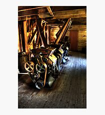 Inside the Alley Spring Mill Photographic Print