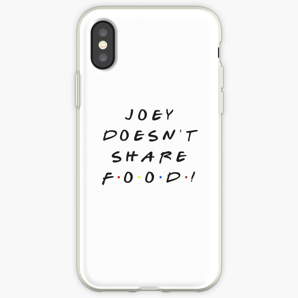 Joey doesn't share food! iPhone Case & Cover