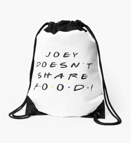 Joey doesn't share food! Drawstring Bag