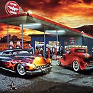 Flying A Gasoline Sign by R&PChristianDesign &Photography
