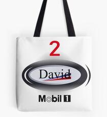 F1 Mclaren David Coulthard design  Tote Bag