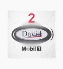 F1 Mclaren David Coulthard design  Scarf