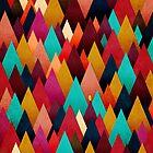 «Profundamente en la textura del bosque de otoño III» de OwlyChic