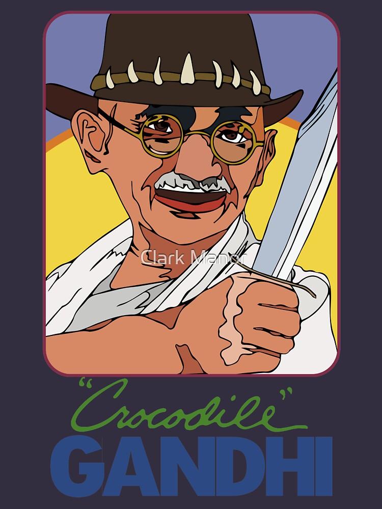 Crocodile Gandhi by ClarkiieRB