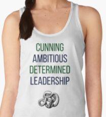 Green words Women's Tank Top