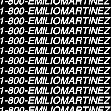1-800-emiliomartinez by amandamedeiros