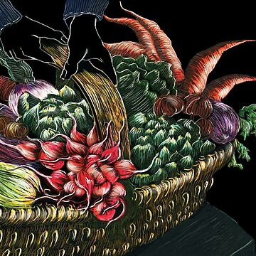 Vegetable Basket by Naquaiya