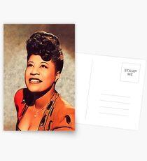 Ella Fitzgerald, Musiklegende Postkarten
