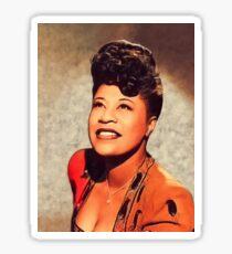 Ella Fitzgerald, Music Legend Sticker