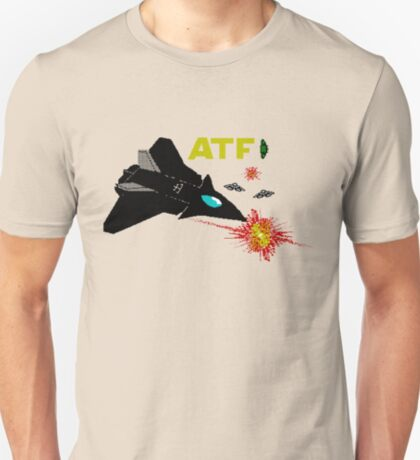 Gaming [ZX Spectrum] - ATF: Advanced Tactical Fighter T-Shirt