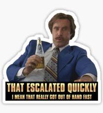 Escalation Sticker