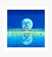 Shoujo-Himmel II Kunstdruck