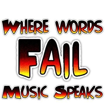 Where Words Fail Music Speaks by Deestylistic