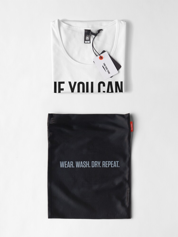 Alternate view of Can you read this? Premium Scoop T-Shirt