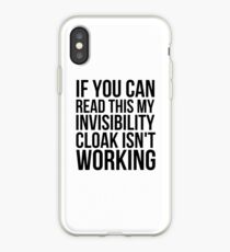 Can you read this? iPhone Case