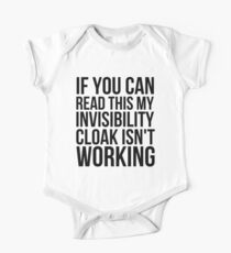 Can you read this? Short Sleeve Baby One-Piece