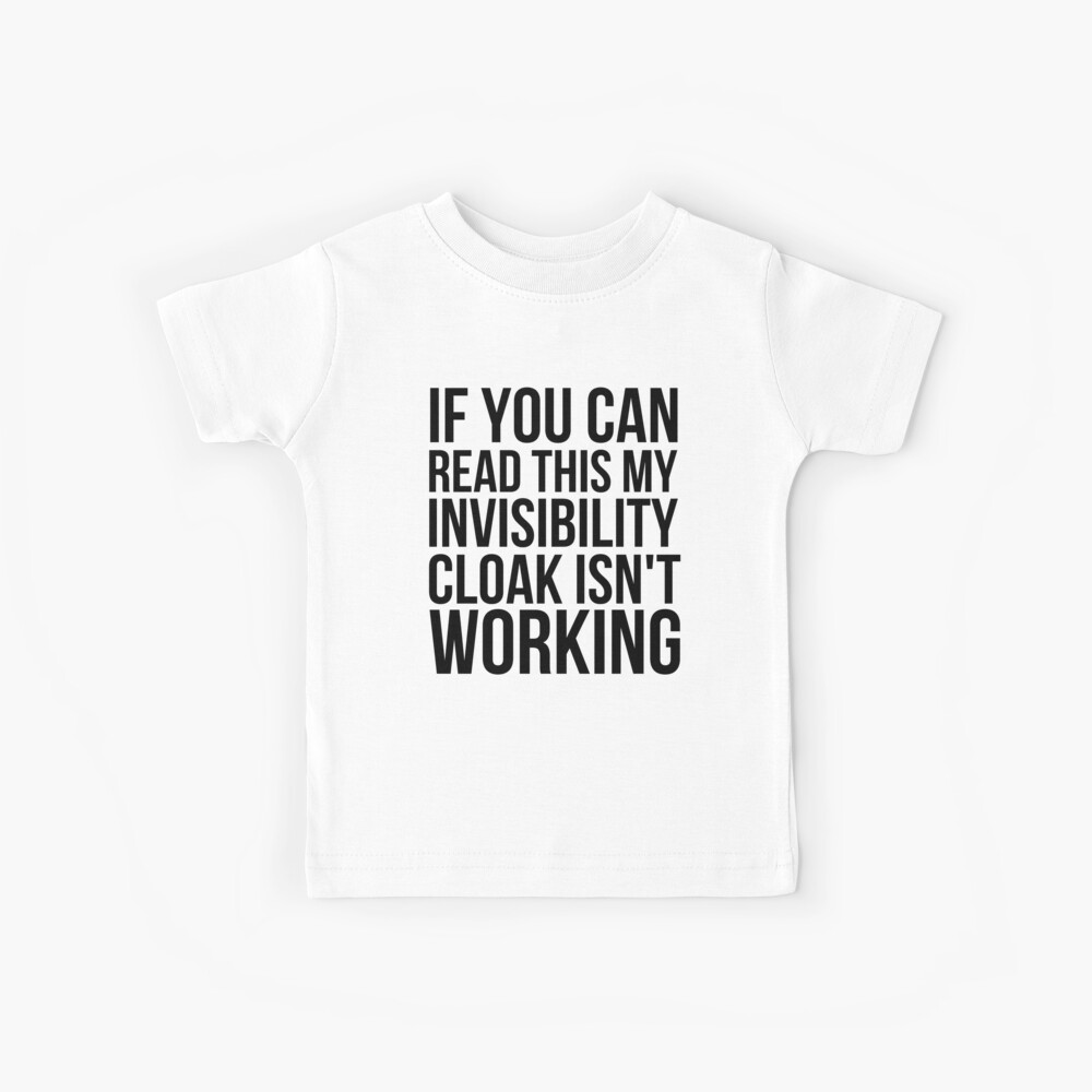 Can you read this? Kids T-Shirt