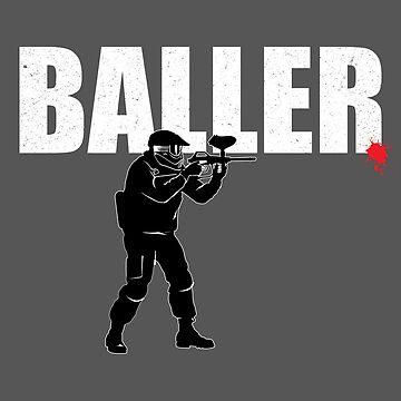 Paintball Design - Baller by kudostees