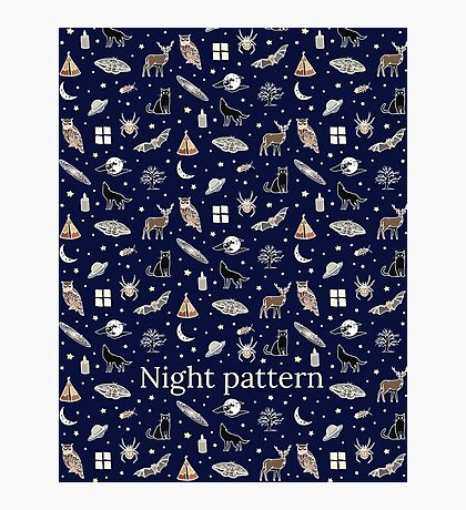 Nuit motif Impression photo