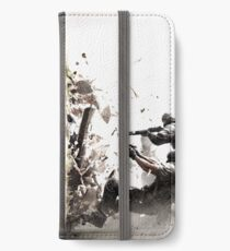 The Battle Of Dark And Light iPhone Wallet/Case/Skin
