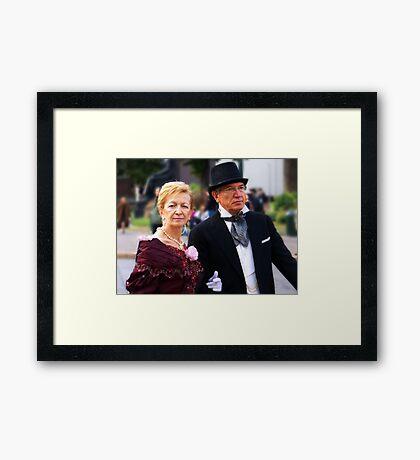 Best couple Framed Print