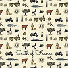 South of France pattern by Laura Frère